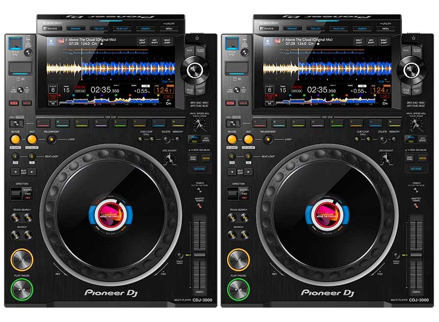 Pioneer CDJ3000 Dj-Player Neu Im Verleih